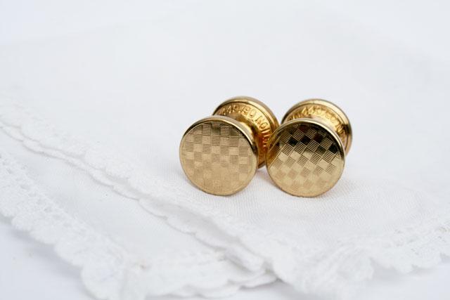 Stratton imitation brand spring chain toggle cufflinks