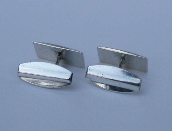 835 zilver Art Deco manchetknopen