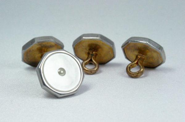 waistcoat buttons, gilet knopen, jaren 30