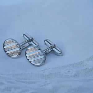zilveren manchetknopen 835 vintage