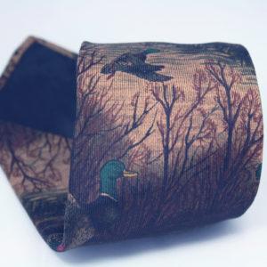Stropdas van Hugo Boss met eendenprint