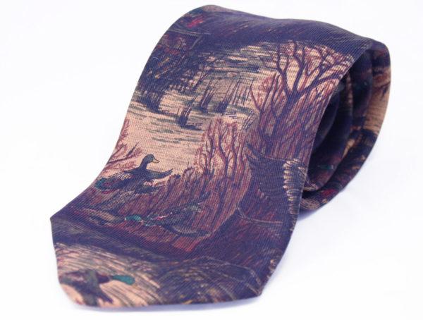 vintage stropdas van Hugo Boss