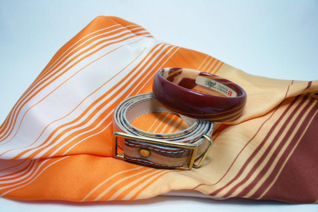 Brandt Design set sjaal, armband en riem