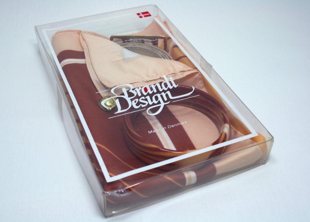 Brandt design set 3 - sjaal, armband en riem