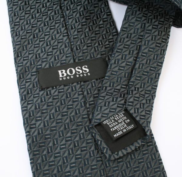 Vintage Hugo Boss stropdas