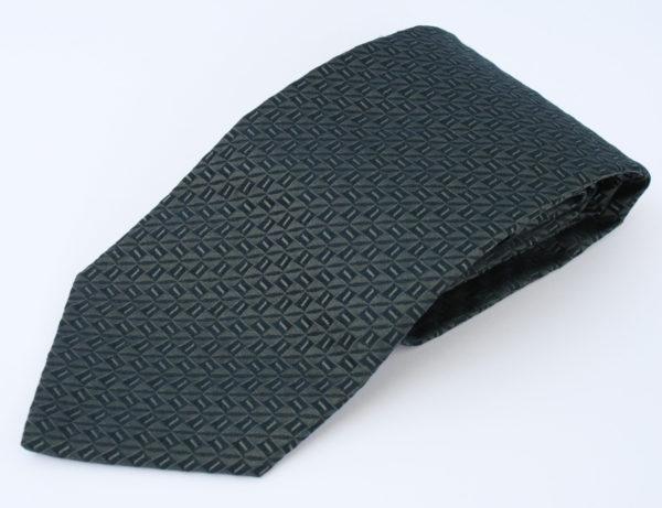 Hugo Boss stropdas donkerblauw grijs