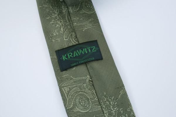 Krawitz stropdas met oude auto's