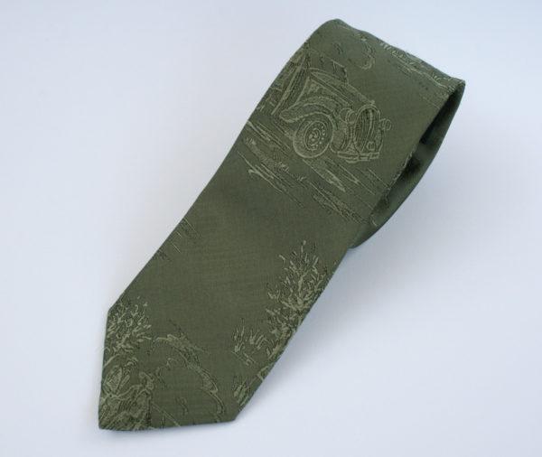 Vintage stropdas met oude auto's