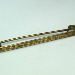 Art Deco collar pin