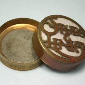 Antiek manchetknopen doosje - Studs Links