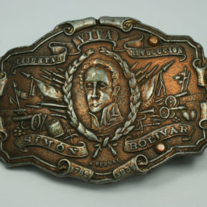 Riemp gesp Simon Bolivar - Belt Buckle