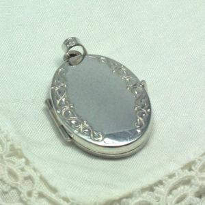 Zilveren medaillon #4