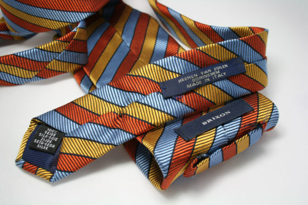 Groovy retro stropdas van Brixon