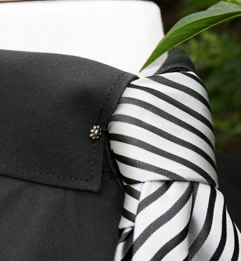Tenax double-lever collar clip - kraagspelden