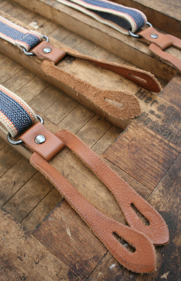 Heren bretels - vintage accessoires