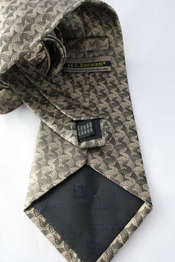Escher stropdas van zijde