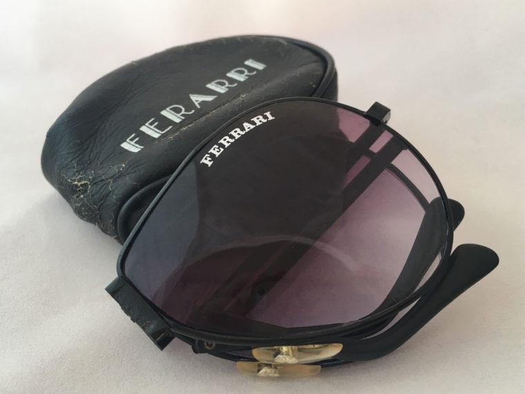 uitvouwbare ferrari zonnebril
