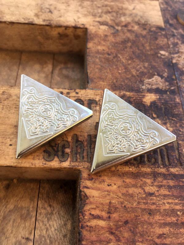 vintage kraagpunten zilverkleurig