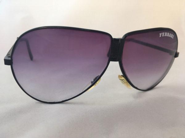 Uitvouwbare Ferrari zonnebril - vintage pilotenbril