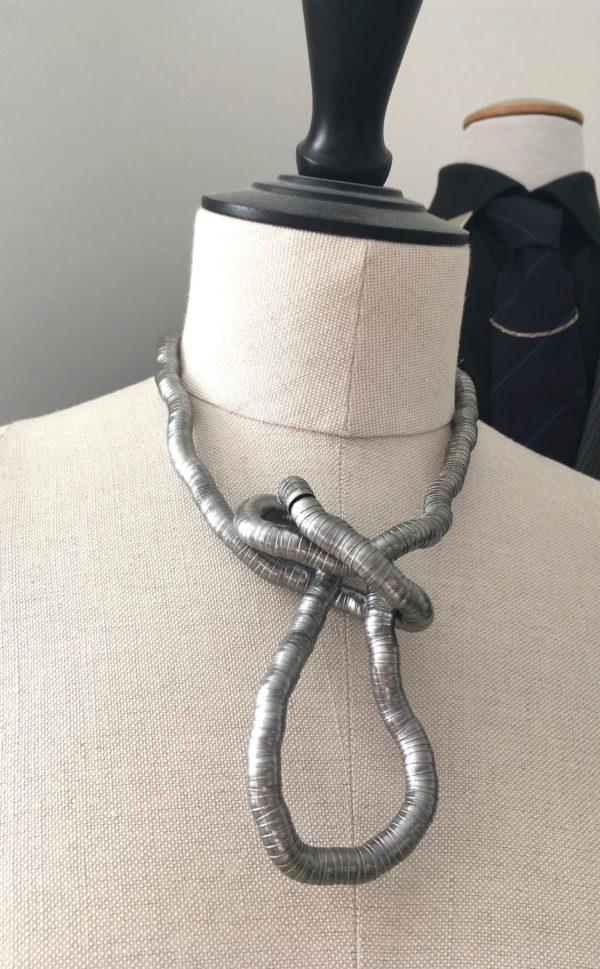 Flexibele ketting en armband van edelstaal