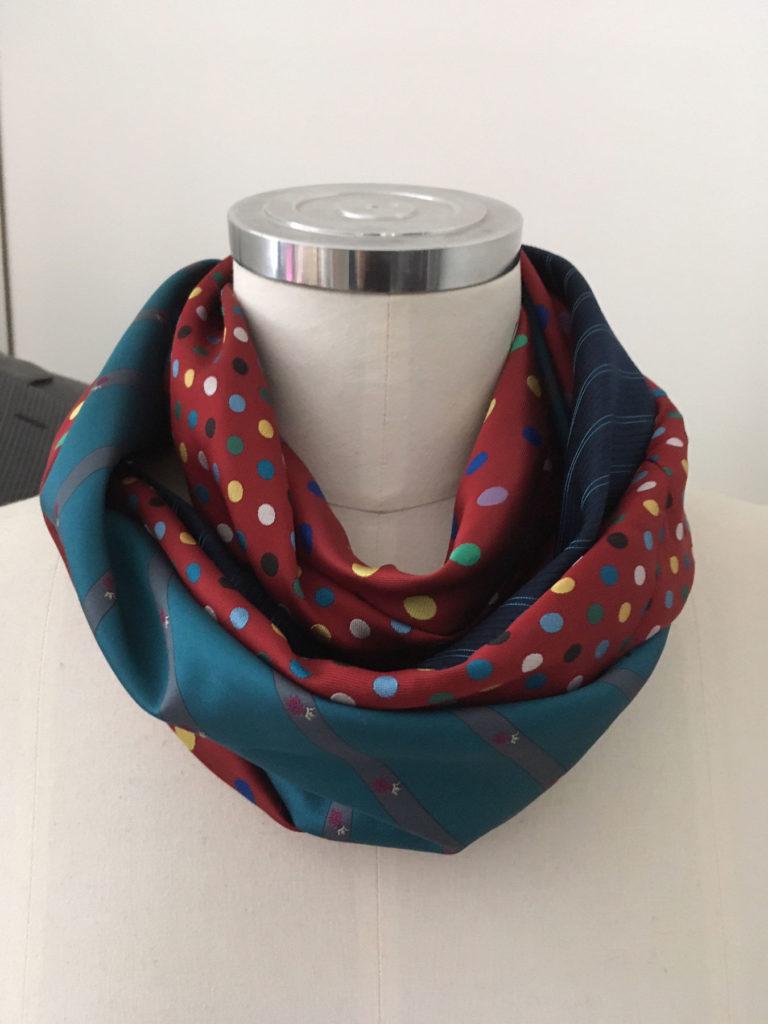 infinity scarf van stropdassen