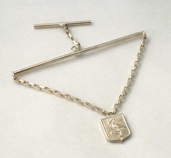 zilveren stropdas ketting den haag