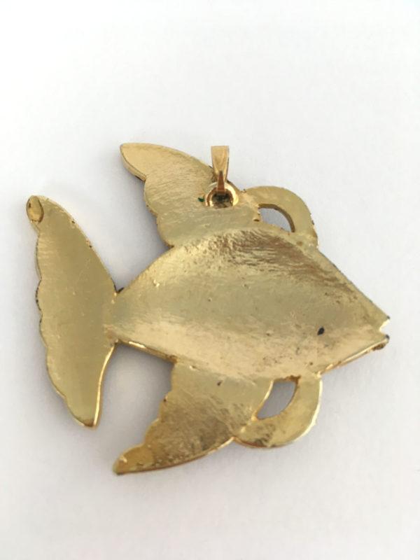 Geëmailleerde vis hanger