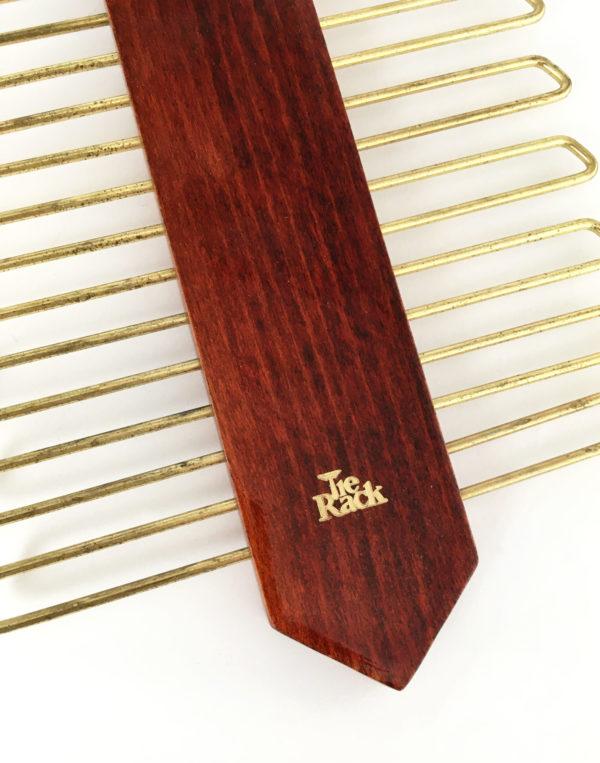 Tie rack retro stropdashanger