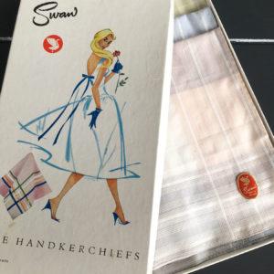 swan zakdoeken uit de jaren 60