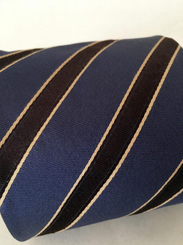 Donkerblauwe Hugo Boss stropdas