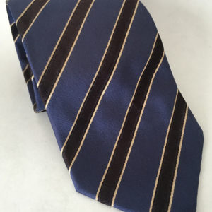 hugo boss stropdas donkerblauw