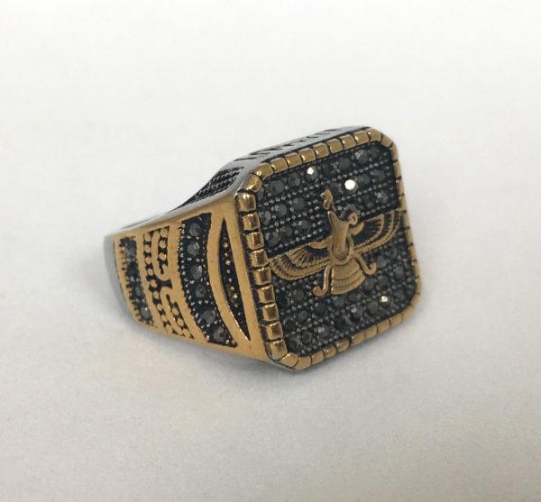 Egyptische ring, vintage