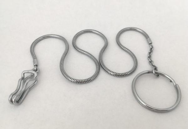 Zakhorloge ketting met ring