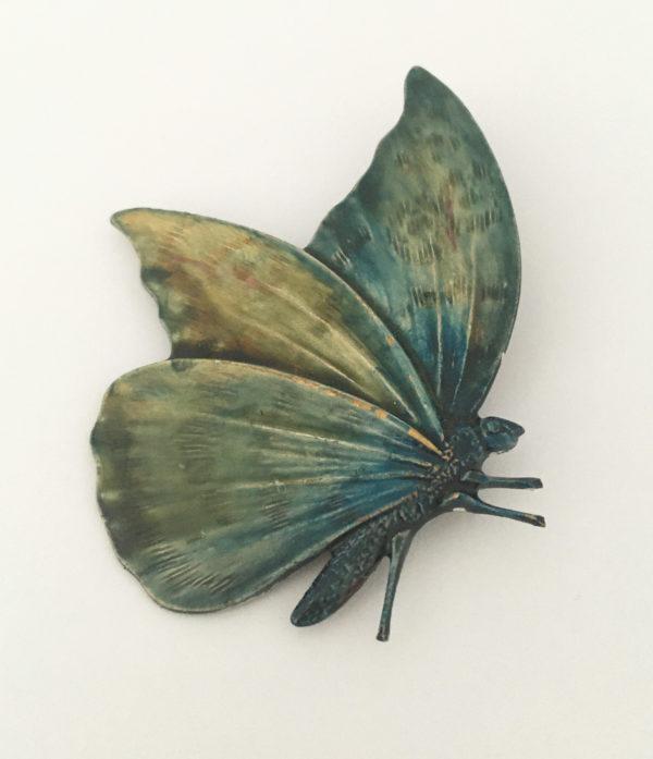 vlinder broche - vintage accessoires