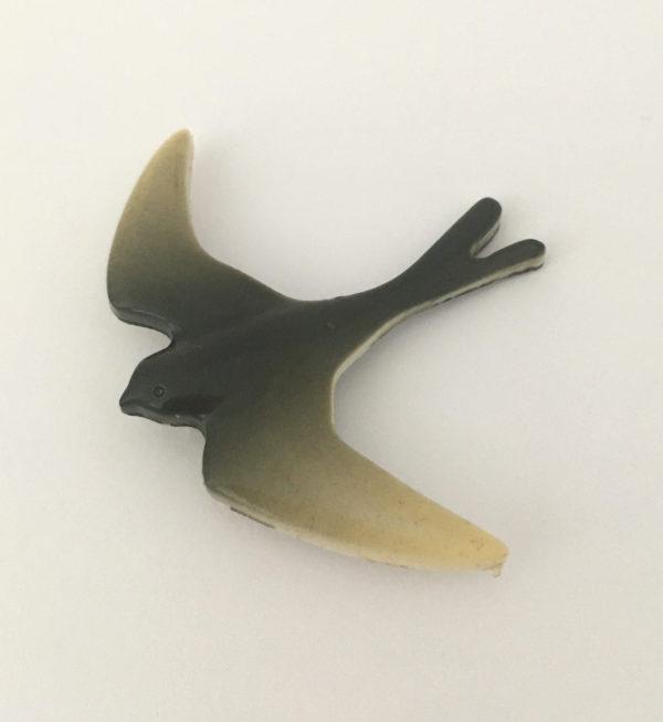 Vogel broche, zwaluw