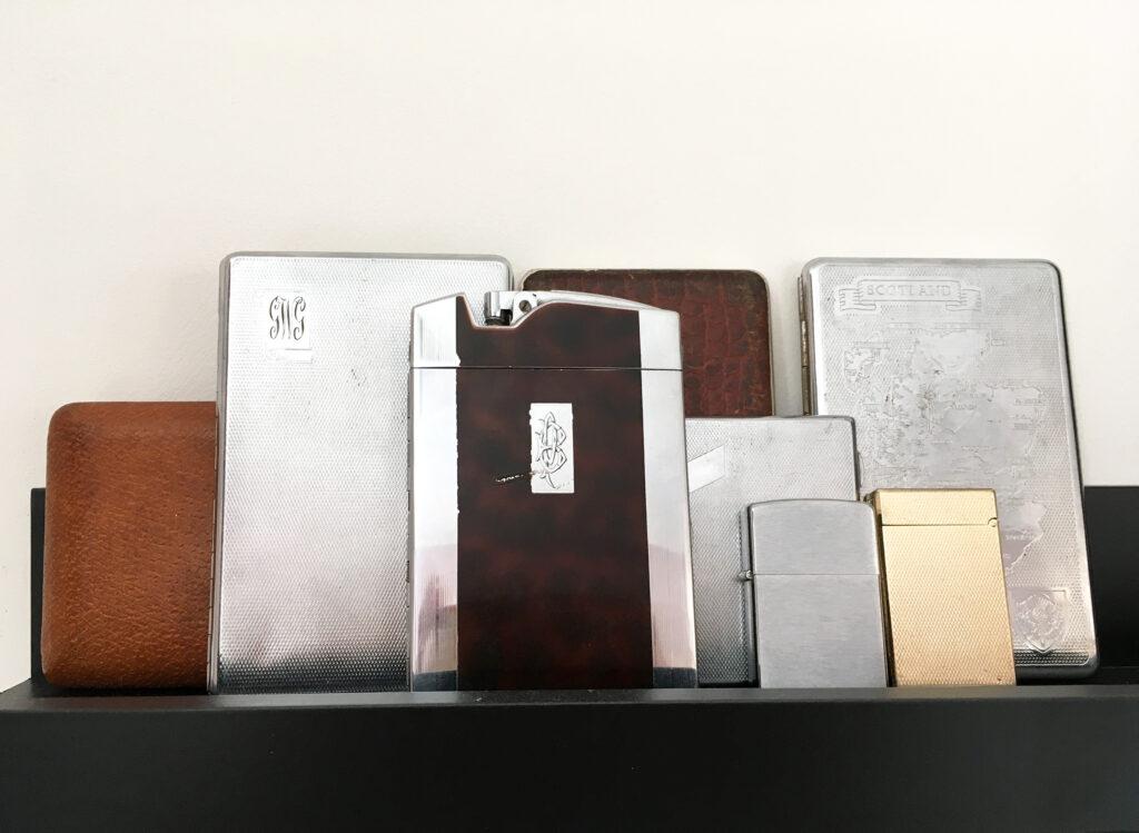 Tobacciana - vintage accessoires - stijlvolle rookwaren