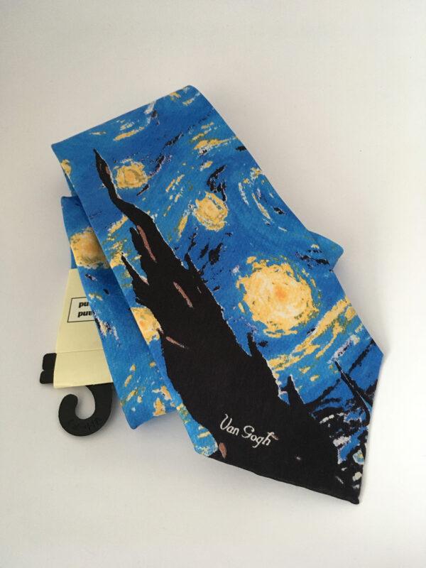 Sterrennacht stropdas, Vincent van Gogh