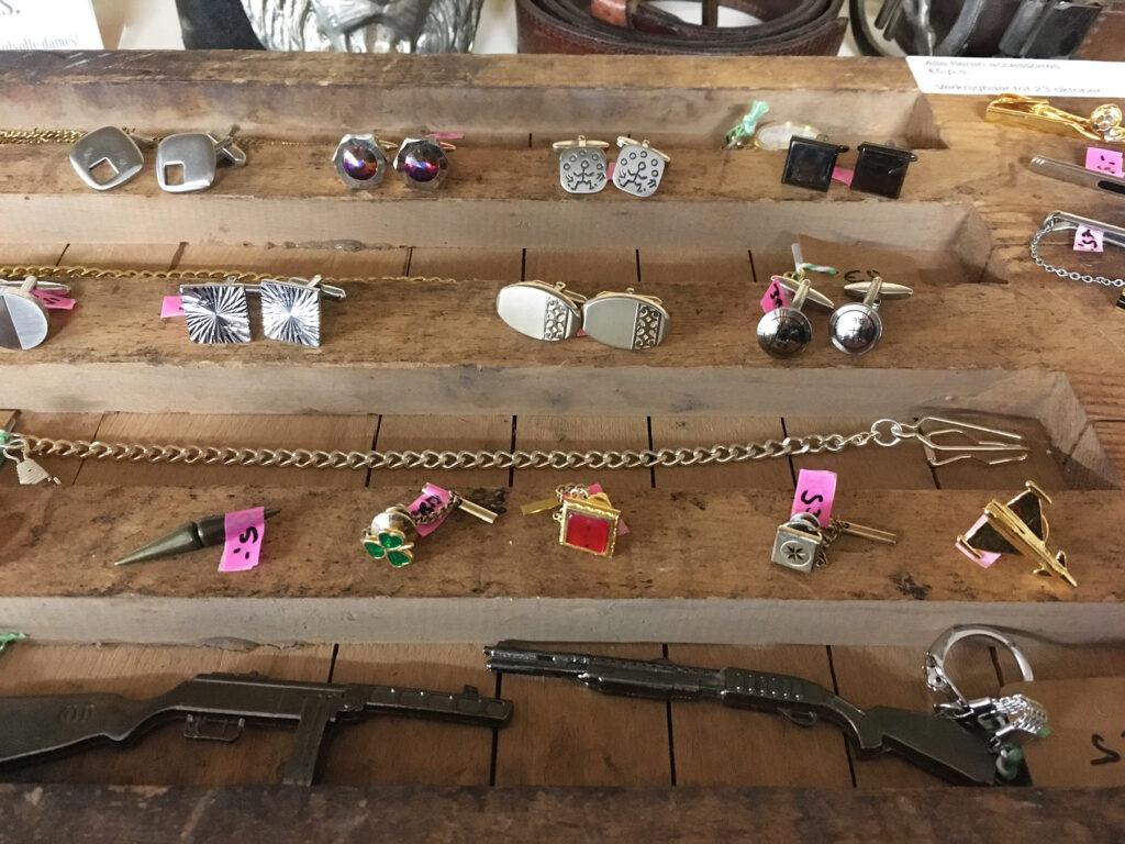 Manchetknopen, zakhorloge kettingen, zakhorloges, 's-hertogenbosch