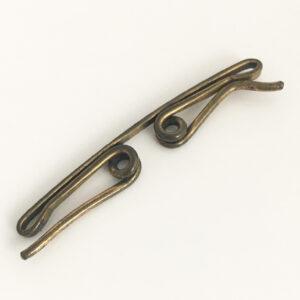 antieke collar clip kraagspeld