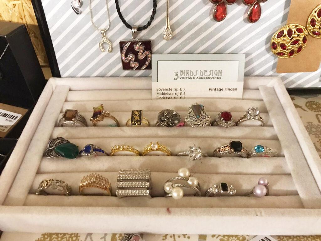 Vintage ringen te koop in Den Bosch