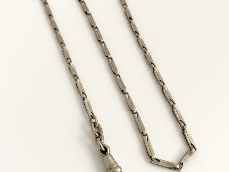 Platinin pocket watch chain