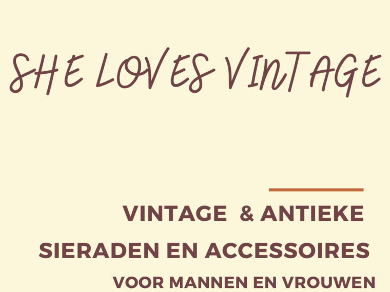 She loves vintage