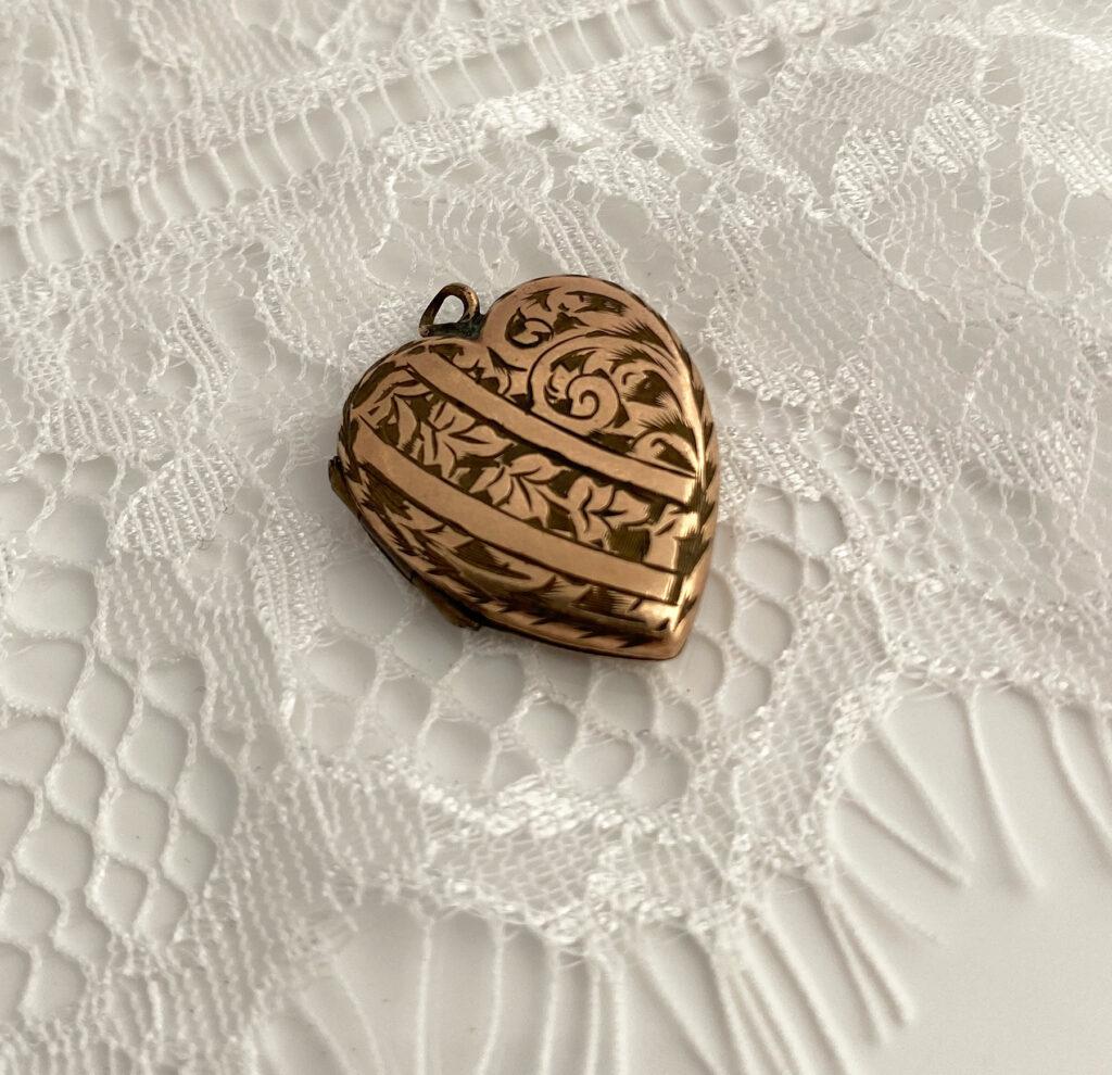 victoriaans medaillon