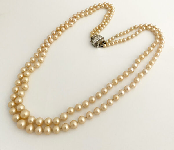 CIRO England imitation pearl necklace