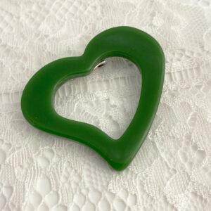 groene hart broche