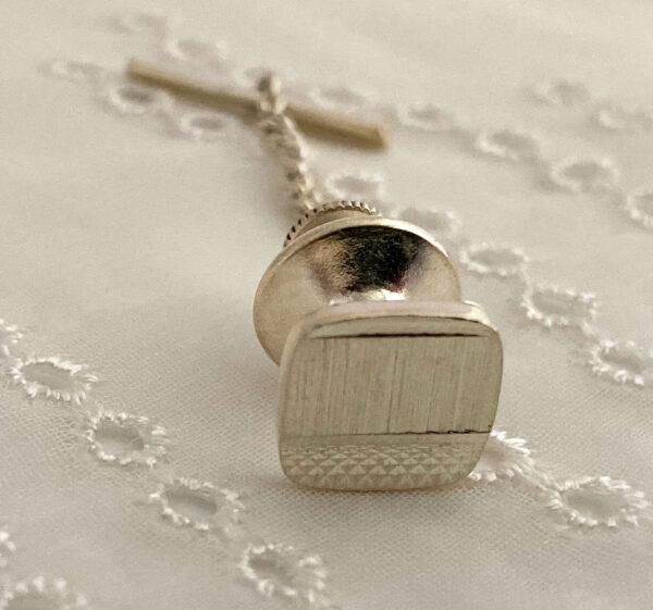 sterling silver 925 tie pin tie tac