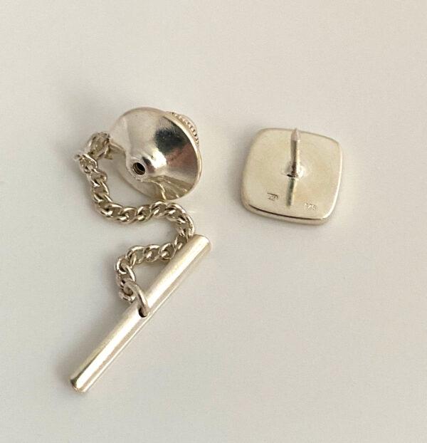 Sterling zilveren tie pin
