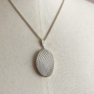 Vintage silver locket Georg Jensen