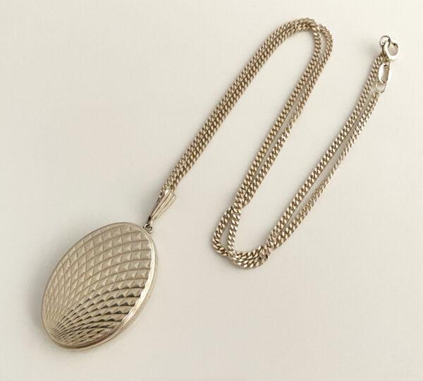 vintage zilveren medaillon Georg Jensen Ltd