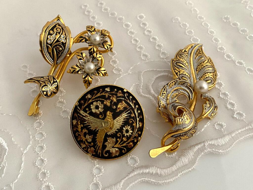 Damascene en Toledoware sieraden, wat is het verschil?